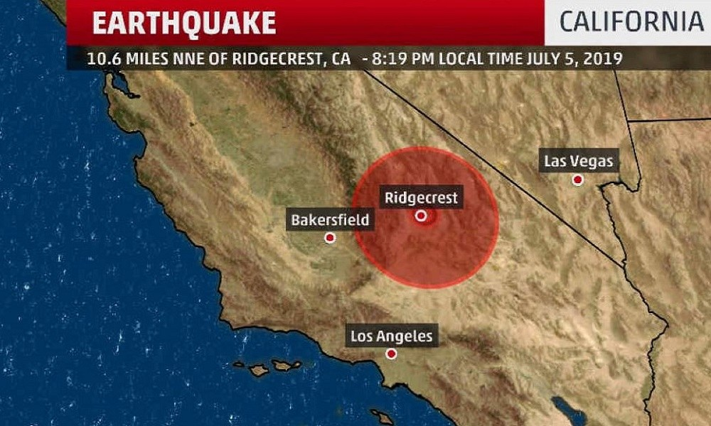 Καλιφόρνια: Φωτιές και καταστροφές από τα 7.1 Ρίχτερ (pics)