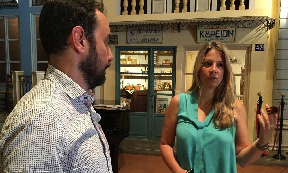 Αλεξάνδρα Χαριτάτου: Στην Ελλάδα σε πολλές περιπτώσεις ο πολιτισμός μυρίζει μούχλα - Sportime.GR