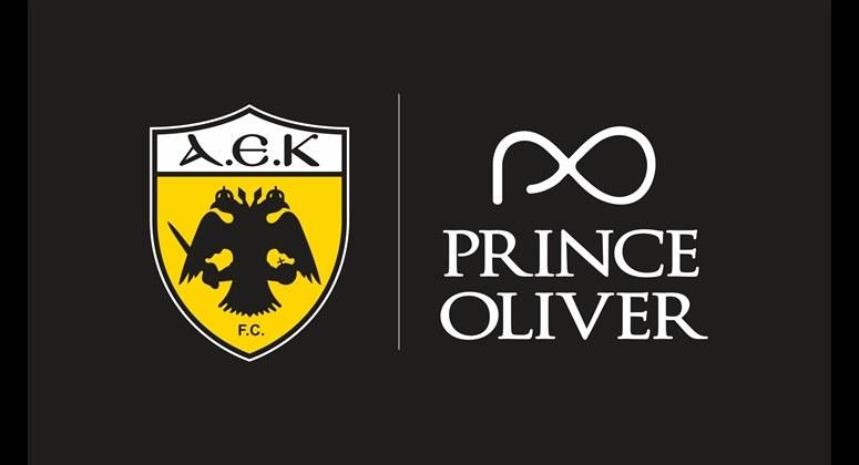 ΑΕΚ: Νέα χορηγική συνεργασία με PRINCE OLIVER