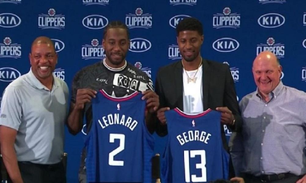 Τζορτζ: «Ήταν γραφτό να παίξουμε με τον Λέοναρντ» (vid) - Sportime.GR