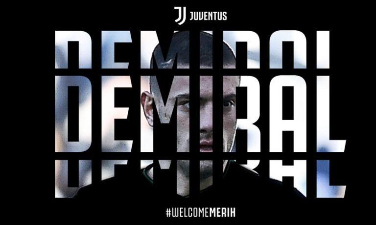 Γιουβέντους: Έκανε δικό της τον Μερίχ Ντεμιράλ