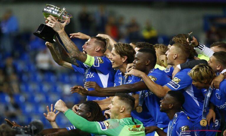 Η Γκενκ σήκωσε το Super Cup Βελγίου