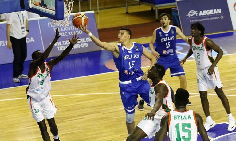 Ελλάδα U19-Σενεγάλη U19 102-97: Μετά από 2 παρατάσεις