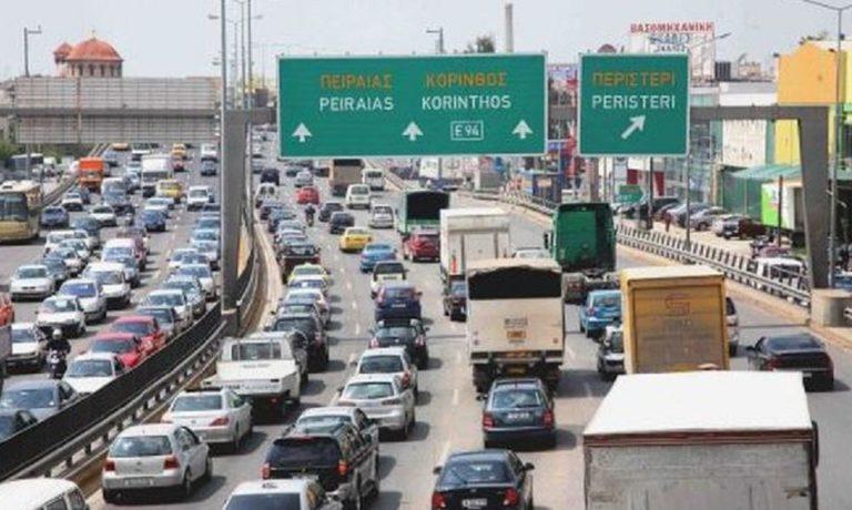 Εθνική Οδός: Μποτιλιάρισμα χιλιομέτρων στον Κηφισό – Απίστευτη ταλαιπωρία!