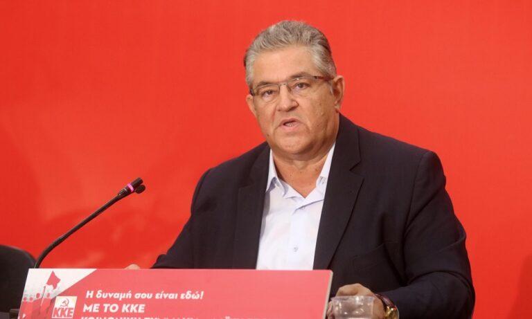 Κουτσούμπας: Το ΚΚΕ θα πρωτοστατήσει στους αγώνες των εργαζομένων