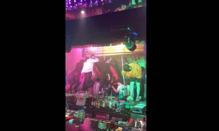Νότια Κορέα: Κατάρρευση οροφής σε κλαμπ με αθλητές (vid)