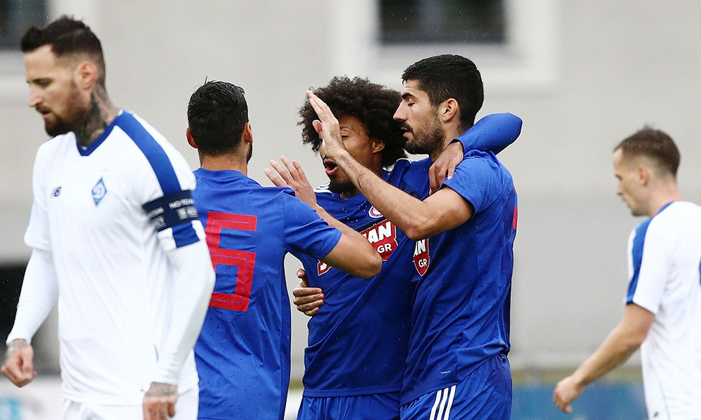 Ολυμπιακός-Ντιναμό: Ωραίο το 1-0 του Μπουχαλάκη (vid) - Sportime.GR
