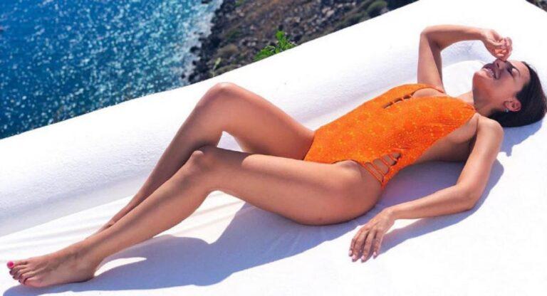 Νικολέττα Ράλλη: «Ζάλισε» τη Νάξο η γνωστή παρουσιάστρια