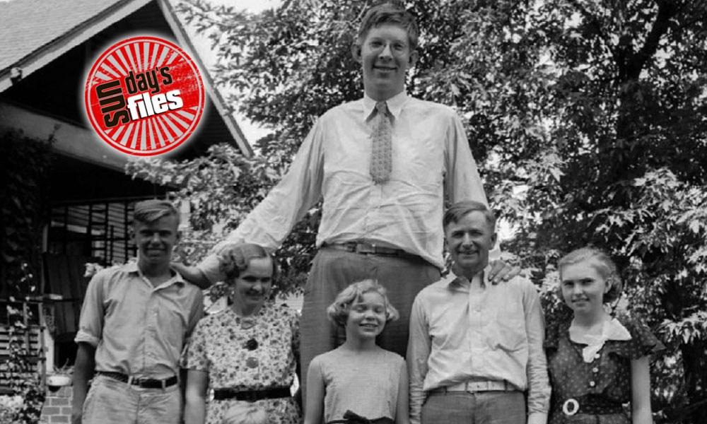 Ρόμπερτ Γουάντλοου, ο ψηλότερος όλων των εποχών (vids+pics)