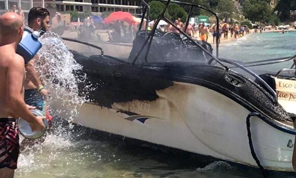 Χαλκιδική: Έκρηξη σε σκάφος – Τραυματίες μητέρα και παιδιά (vid)