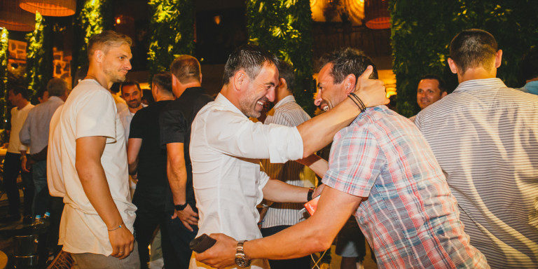 Το πάρτι των Ελλήνων και Πορτογάλων Legends στο Zambri (pics)