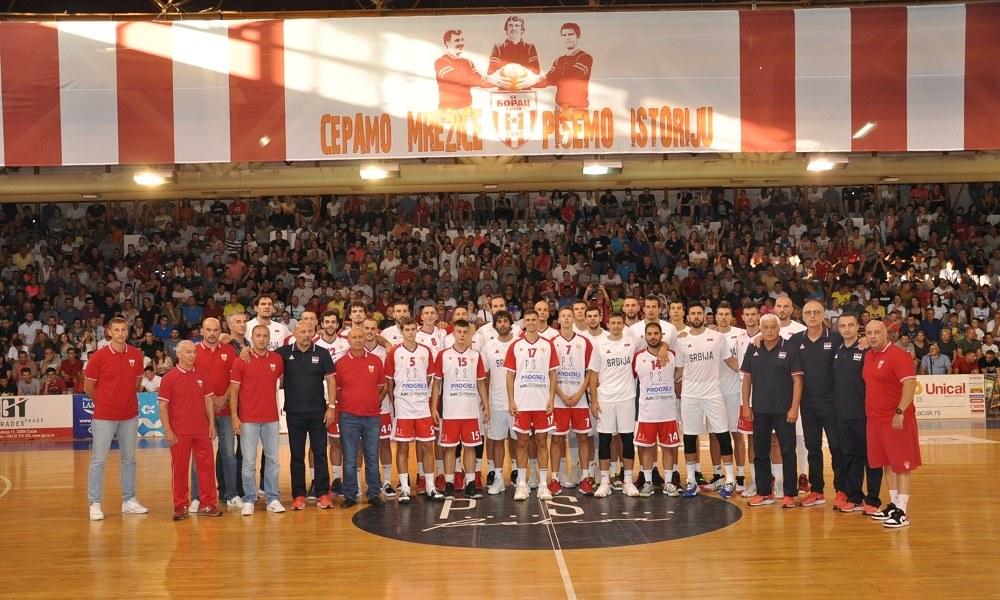 Εθνική Σερβίας: Νίκη και βραβεύσεις στο πρώτο φιλικό