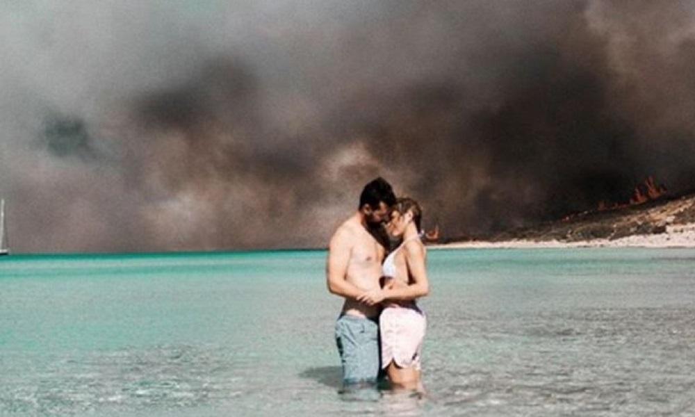 Ελαφόνησος: Η φωτογραφία που κάνει το γύρο του διαδικτύου