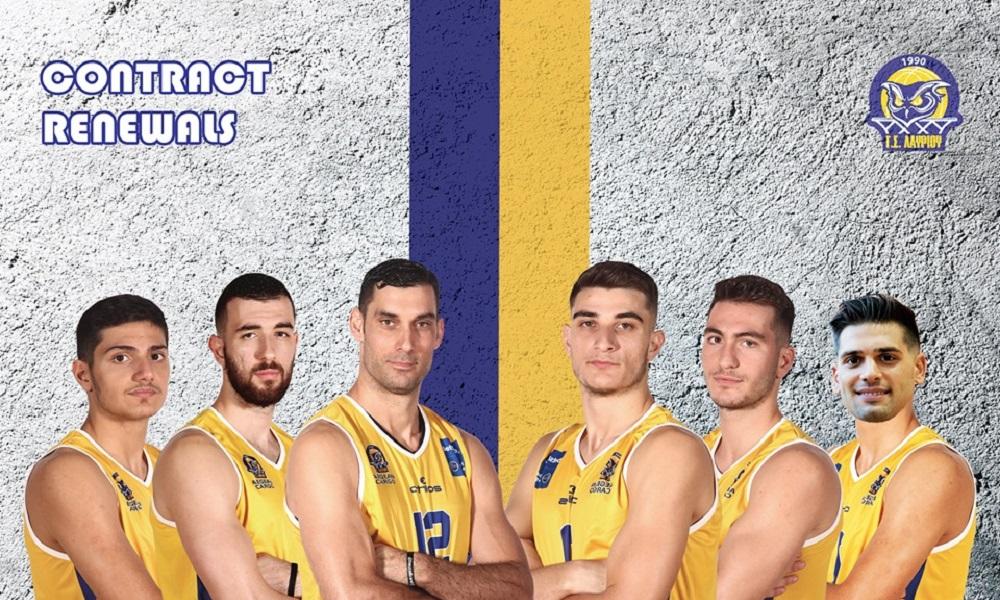 Λαύριο: Ανανέωσαν έξι Έλληνες παίκτες! (pic)