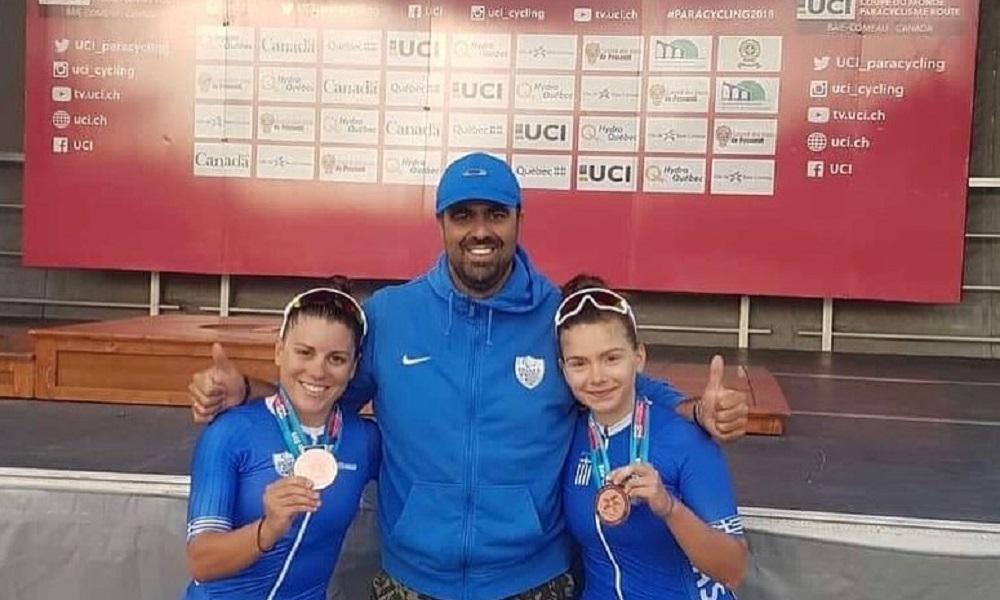 Παγκόσμιο Κύπελλο Κεμπέκ: Χάλκινο μετάλλιο για τις Καλατζή/Μηλάκη