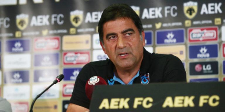 Καραμάν: «Στο γήπεδο κόντρα στην ΑΕΚ θα δούμε το φαβορί»