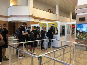ΑΕΚ: Εφτασε στην Τραπεζούντα (pics-vid)
