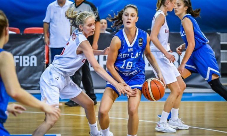 Εθνική Κορασίδων: Δανία-Ελλάδα 44-89