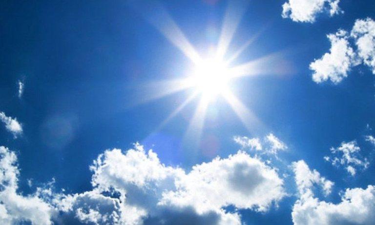 Καιρός: Αίθριος, σε υψηλά επίπεδα παραμένει η θερμοκρασία