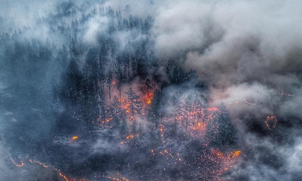 Σιβηρία: Τεράστια καταστροφή από τις πυρκαγιές (vid & pics)