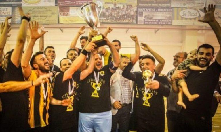 Futsal Super League: Κυρίαρχη η ΑΕΚ