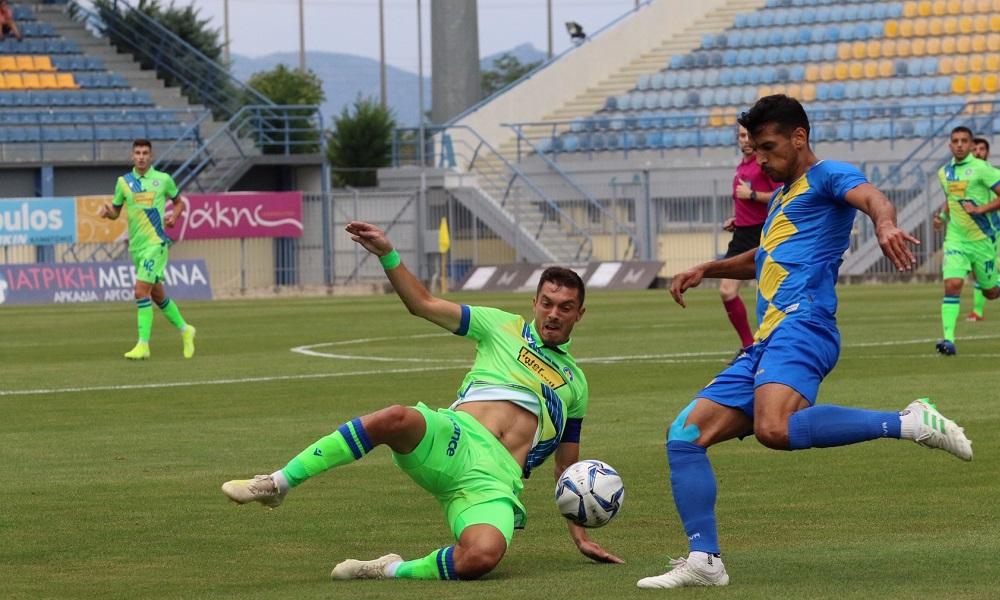 Αστέρας Τρίπολης – Παναιτωλικός 0-2: Καμπανάκια και χαμόγελα