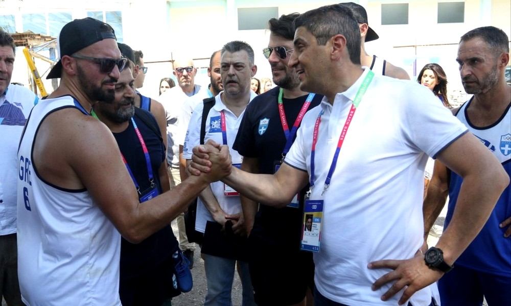 Αυγενάκης: «Δεν είμαι Υφυπουργός μόνο του ποδοσφαίρου»