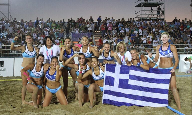 Beach Handball: Έκανε… 13άρι η Εθνική Γυναικών (vid)