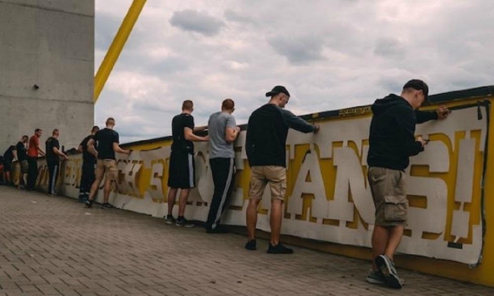 Ντόρτμουντ: Γκράφιτι για… όσκαρ στο Westfalenstadion (vid+pics)
