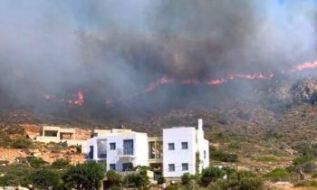 Ελαφόνησος: Το πριν και μετά της φωτιάς από το δορυφόρο (pics)