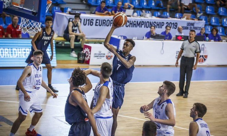 Εθνική Παίδων: Ελλάδα-Γαλλία 54-59