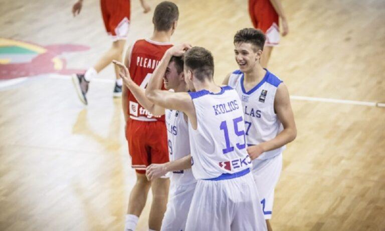 Παίδων U16: Ελλάδα-Κροατία 92-84 – Νίκησε και «κυνηγά» το Παγκόσμιο