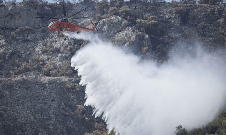 Φωτιά: Μάχη με τις φλόγες σε Ασπρόπυργο, Αχαΐα, Ηλεία, Σαλαμίνα