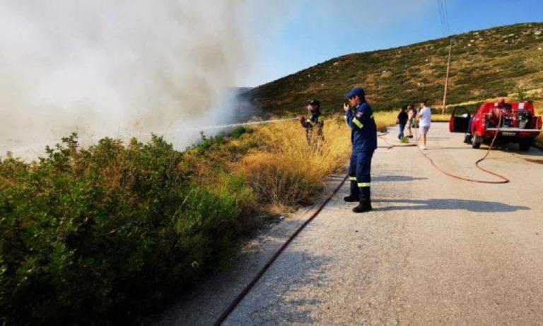 Ασπρόπυργος: Τρεις φωτιές – Υψηλός κίνδυνος πυρκαγιών
