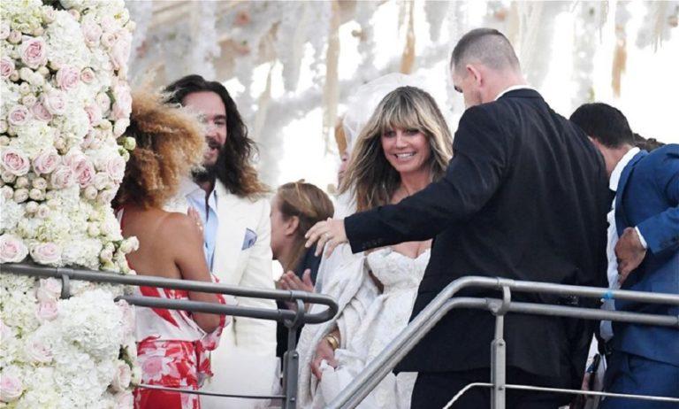 Χάιντι Κλουμ: Γάμος παραμύθι στη θαλαμηγό του Ωνάση