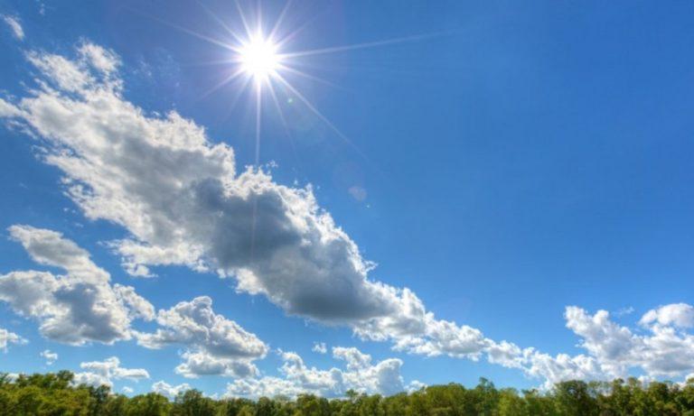Καιρός: Συνεχίζει να ανεβαίνει η θερμοκρασία