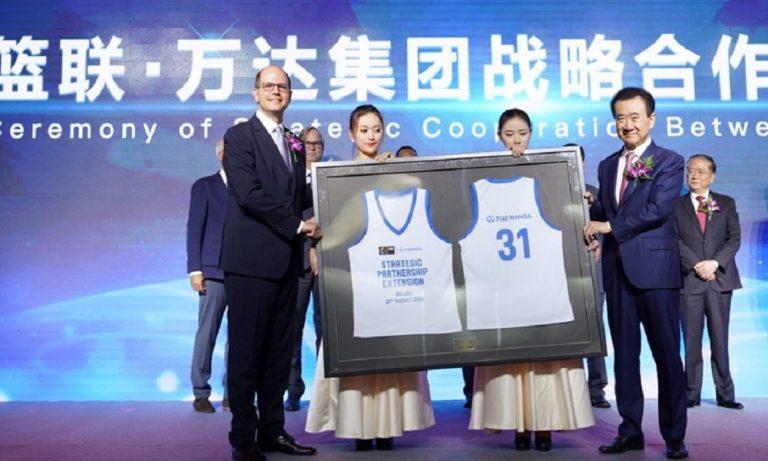 Μουντομπάσκετ 2019: Υποδοχή του προέδρου της Κίνας στον Ανδρέα Ζαγκλή