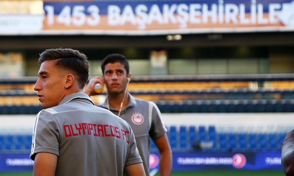Μπασακσεχίρ – Ολυμπιακός: Προκλητικοί οι Τούρκοι (pic)