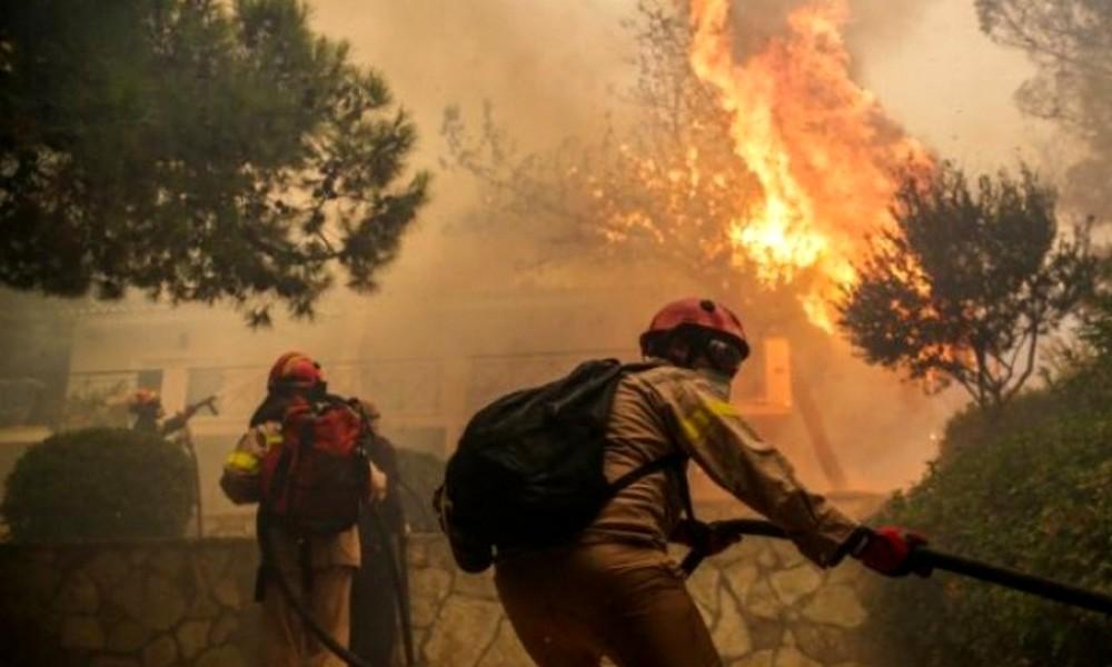 Πού υπάρχει κίνδυνος πυρκαγιάς την Κυριακή 18/8 (pic)