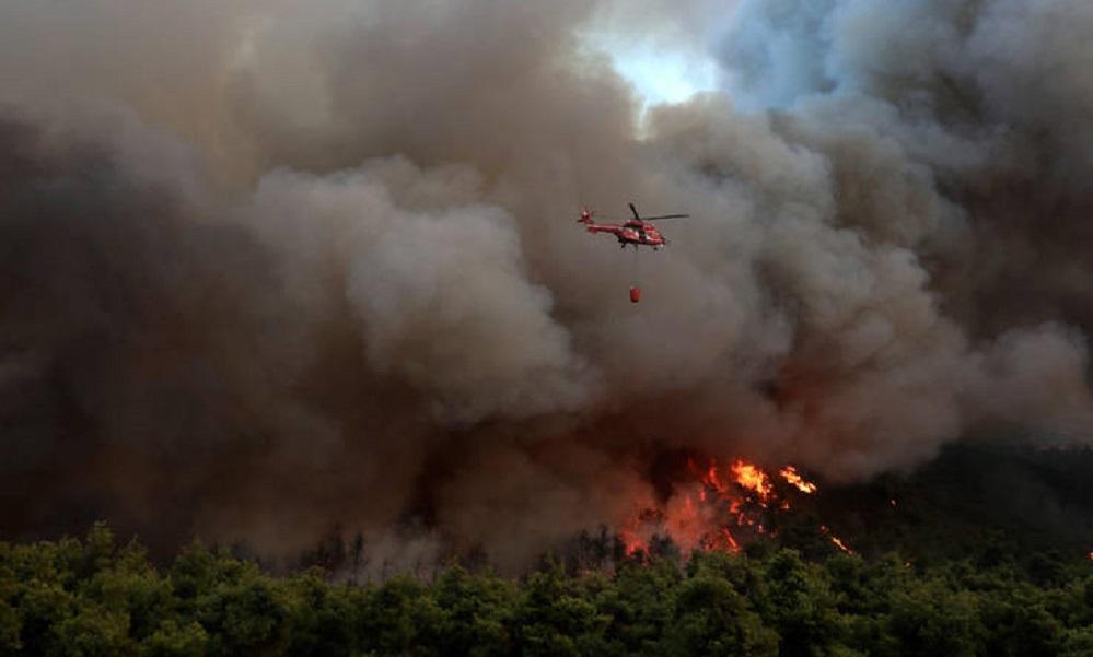 Πέμπτη (15/8): Προειδοποίηση για «πολύ υψηλό κίνδυνο πυρκαγιάς»