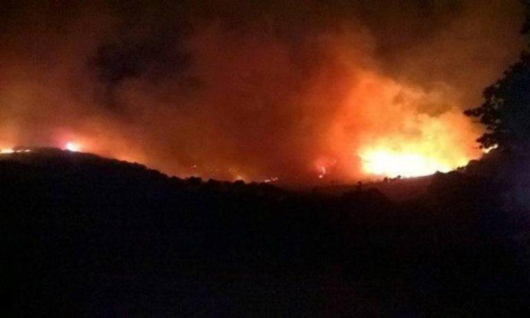 Σαμοθράκη: Πυρκαγιά στην περιοχή Καμαριώτισσα