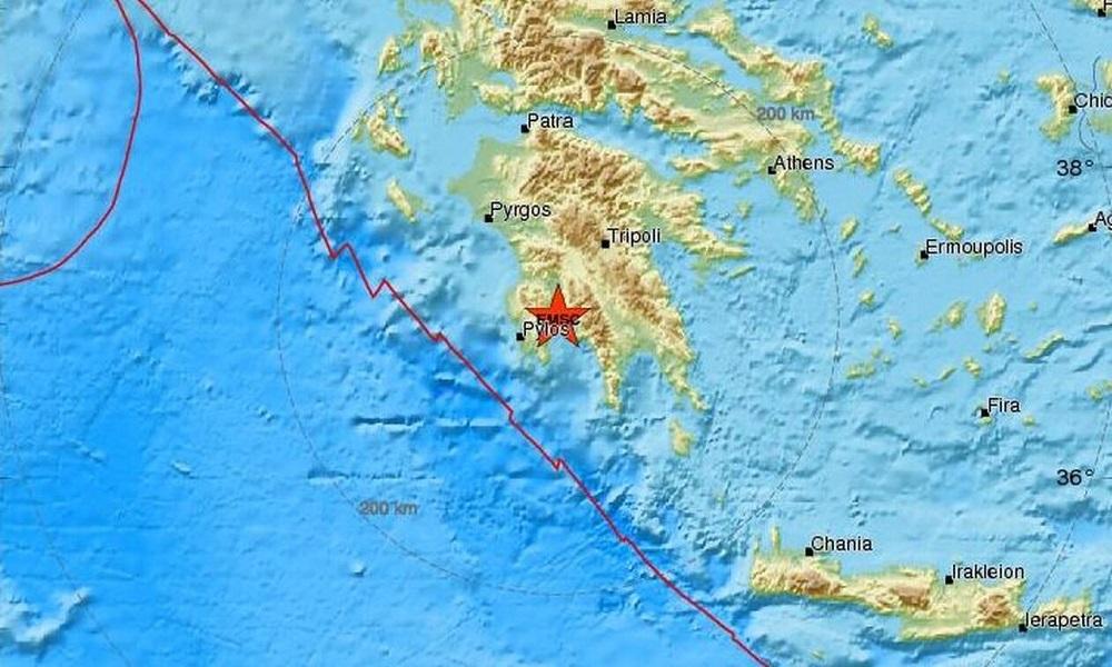 Σεισμός στην Καλαμάτα: Αισθητός σε αρκετές περιοχές - Sportime.GR