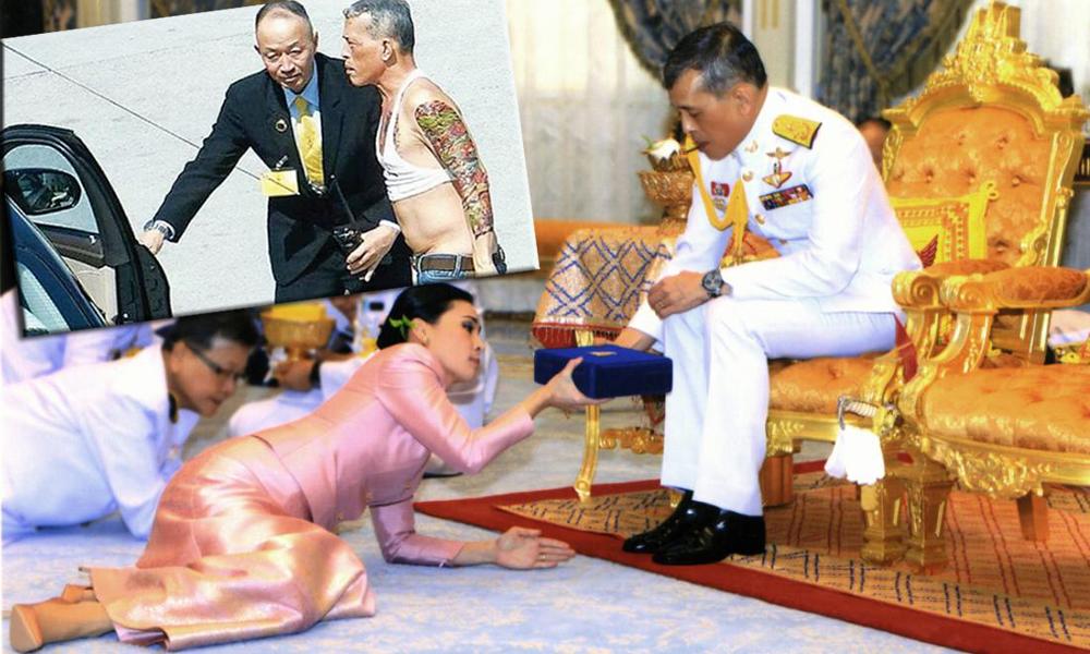 Ταϊλάνδη – βασιλιάς: Από εδώ η γυναίκα μου και από εδώ το αίσθημα μου (vids)