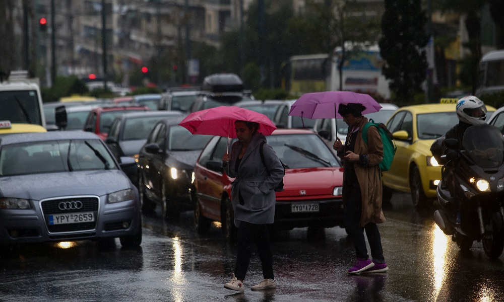 Καιρός: Μεγάλη πτώση θερμοκρασίας, βροχές, χαλάζι - Sportime.GR