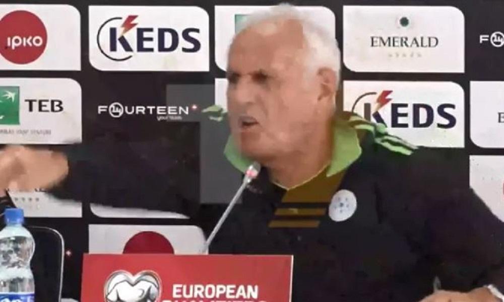 Κόσοβο: «Τρελάθηκε» στη συνέντευξη Τύπου ο προπονητής! (vid)
