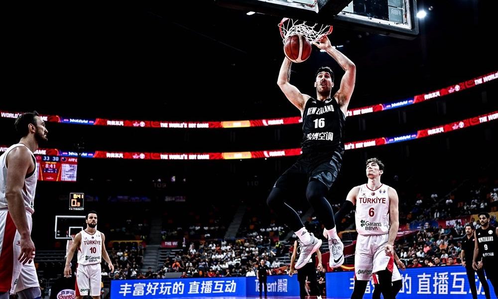 Μουντομπάσκετ 2019: Νίκη με ακόμη μια «κατοστάρα» για τη Νέα Ζηλανδία