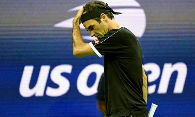 US Open: Αποκλεισμός-έκπληξη του Φέντερερ (vid)