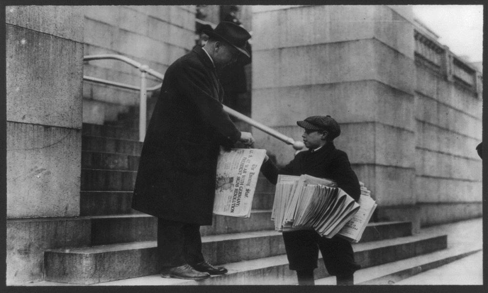 Εφημερίδες 7/10 : Τι διάβαζαν πριν από (περίπου) 100 χρόνια