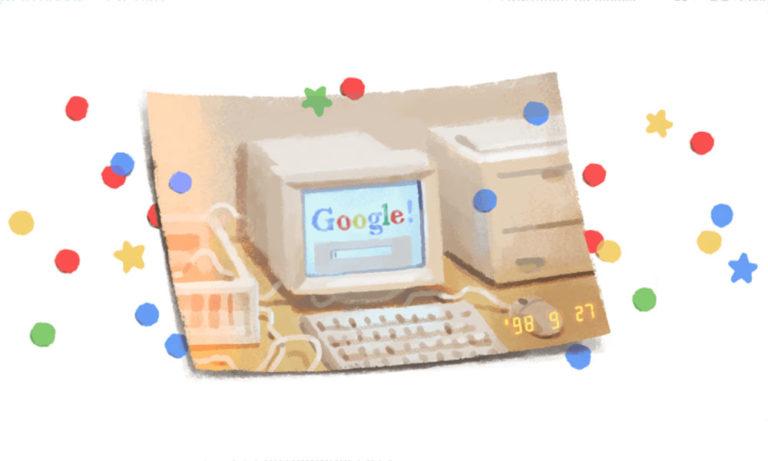 Ένα doodle αφιερωμένο στην… Google!