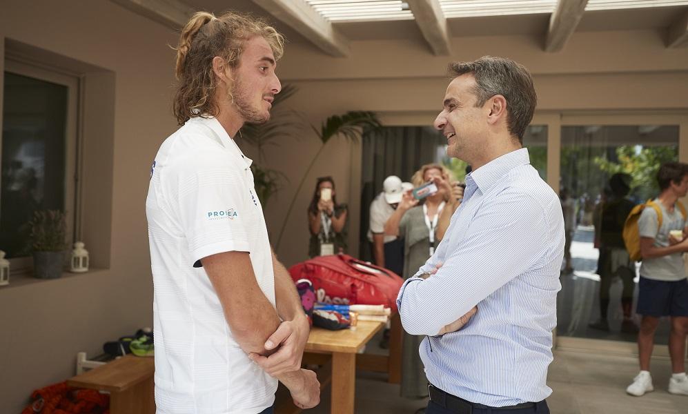 Τσιτσιπάς – Μητσοτάκης: Συμφώνησαν να παίξουν παρτίδα τένις μαζί! (vids)